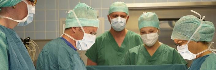 Bild bei einer Operation